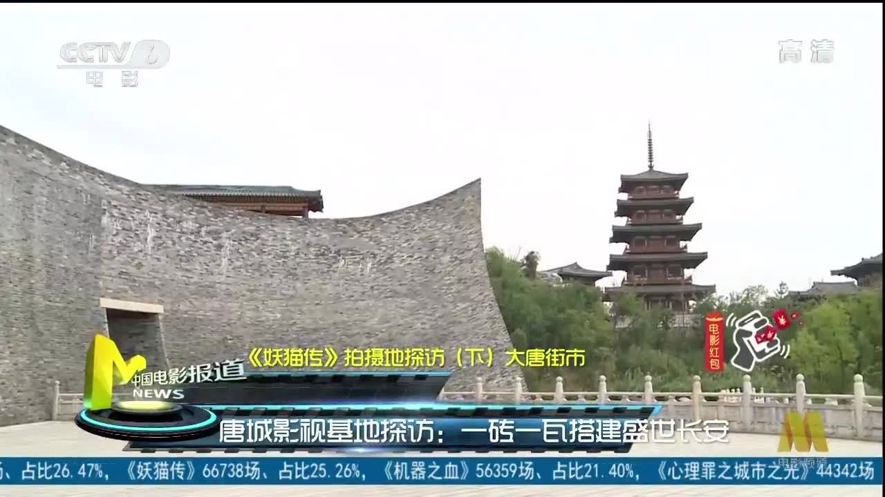 《妖猫传》拍摄地探访(下) 大唐街市